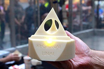 Regional final award/trophy