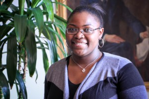 YCAP student Tiara Hill